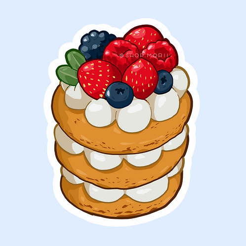 Berry Tower Sticker (@lessonguy)