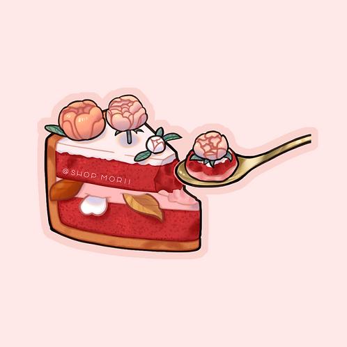 Floral Cake Sticker (@teriskyart)