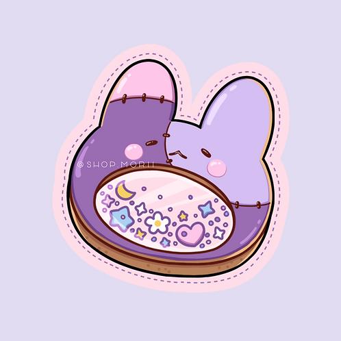 Cookie Shaker Patchi Sticker (@leendoodles)