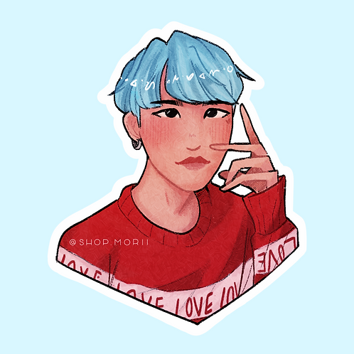 MYG Kpop-Inspired Sticker (@nectoclock)