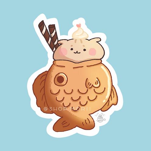 Taiyaki Taro Sticker (@zneebs_)