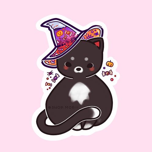Witches' Cat Sticker (@heysoleilart)