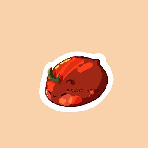Tomato Hamster Sticker (@zneebs_)