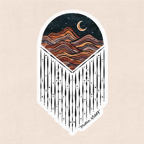 Earthy Dreams Sticker (@kristinheldtart)
