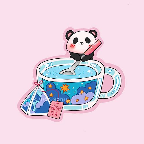 Positivitea Sticker (@_pandoodle)