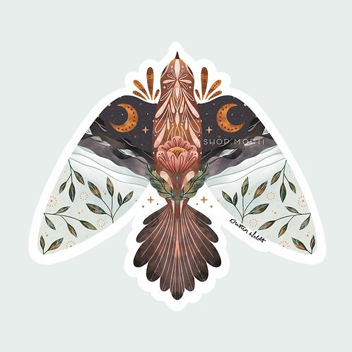 Scenic Bird Sticker (@kristinheldtart)