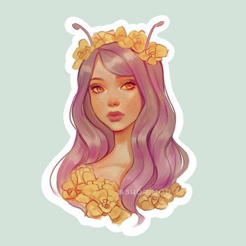 "Mystical ""sNaiL ThAnG"" Sticker (@badtacokitty)"