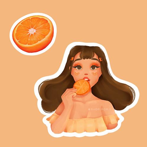 Orange Sticker Pack (@vrpspam)