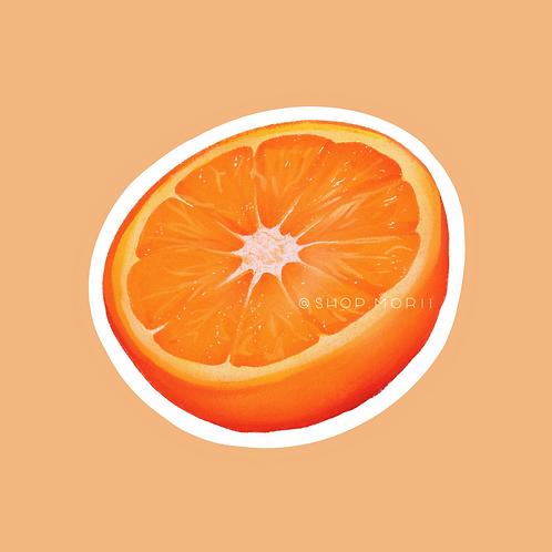 Orange Fruit Sticker (@vrpspam)