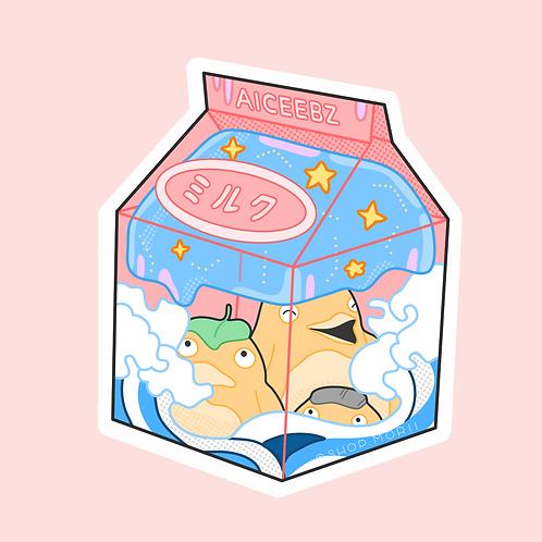 Duck Drink Sticker (@aiceebz)