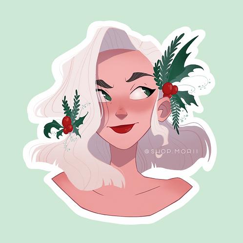 Holly Sticker (@agnesillustrates)