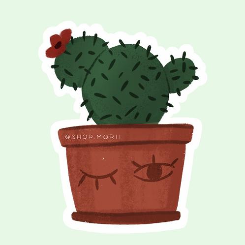 Cactus Sticker (@laura.m.dumitriu)