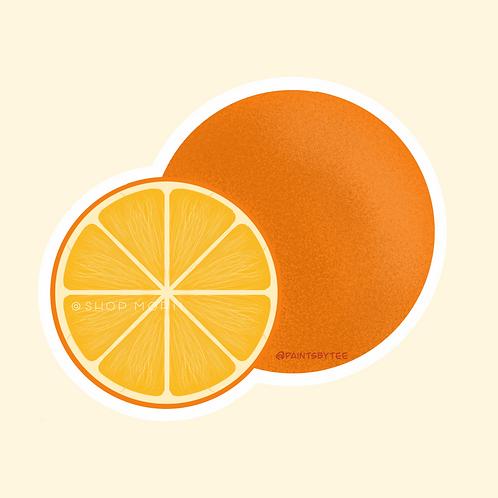 Oranges Sticker (@paintsbytee)