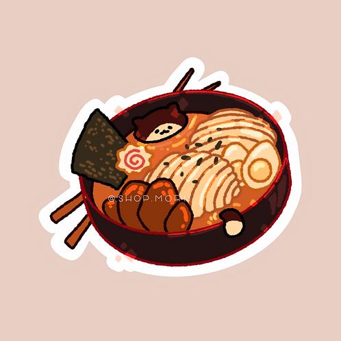 Ramen Cat Sticker (@zneebs_)