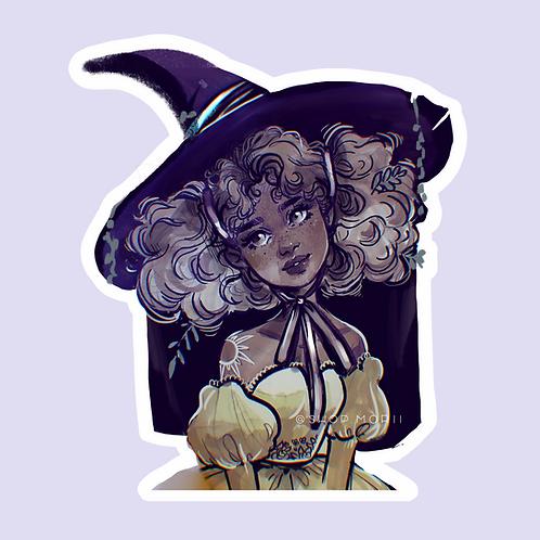 Enchantress Sticker (@smoustart)