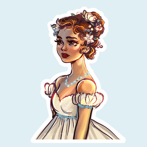 Princess Sticker (@smoustart)