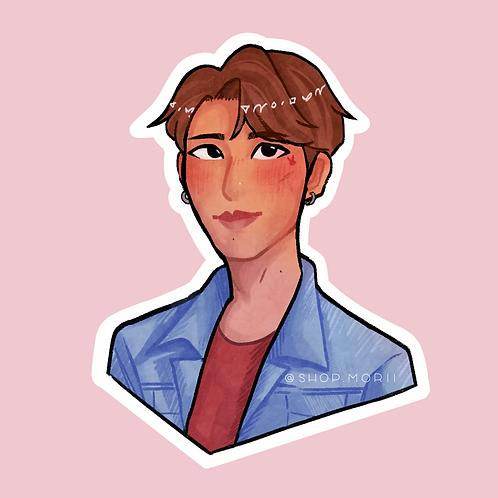 JJK Kpop-Inspired Sticker (@nectoclock)