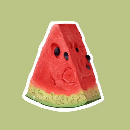 Watermelon Fruit Sticker (@vrpspam)