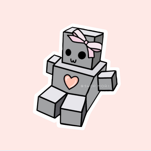 Beryl Plush Robot Sticker (@milpitas_xtreme_robotics)