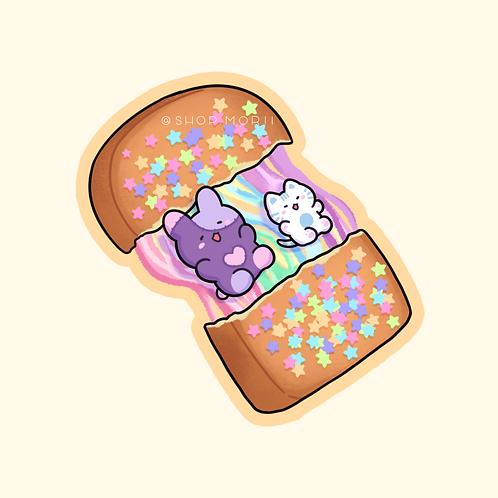 Melted Bread Sticker (@leendoodles)