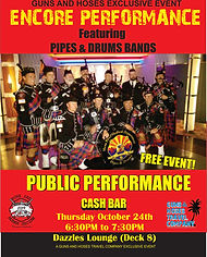 Guns and Hoses Cruise Pipes and Drums En