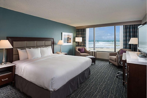 VIP Package - for up to 2 guests (Ocean view room king)
