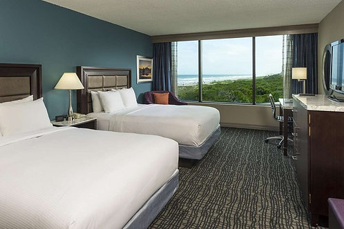 VIP Package - for up to 4 guests (Ocean view room 2 Queens)