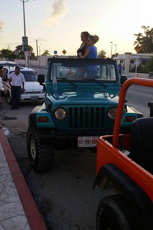 Cozumel Jeep Scavenger Hunt