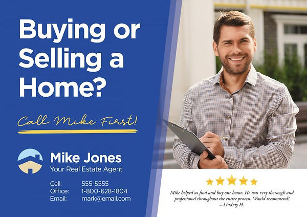 real-estate-agent-introduction-postcard-