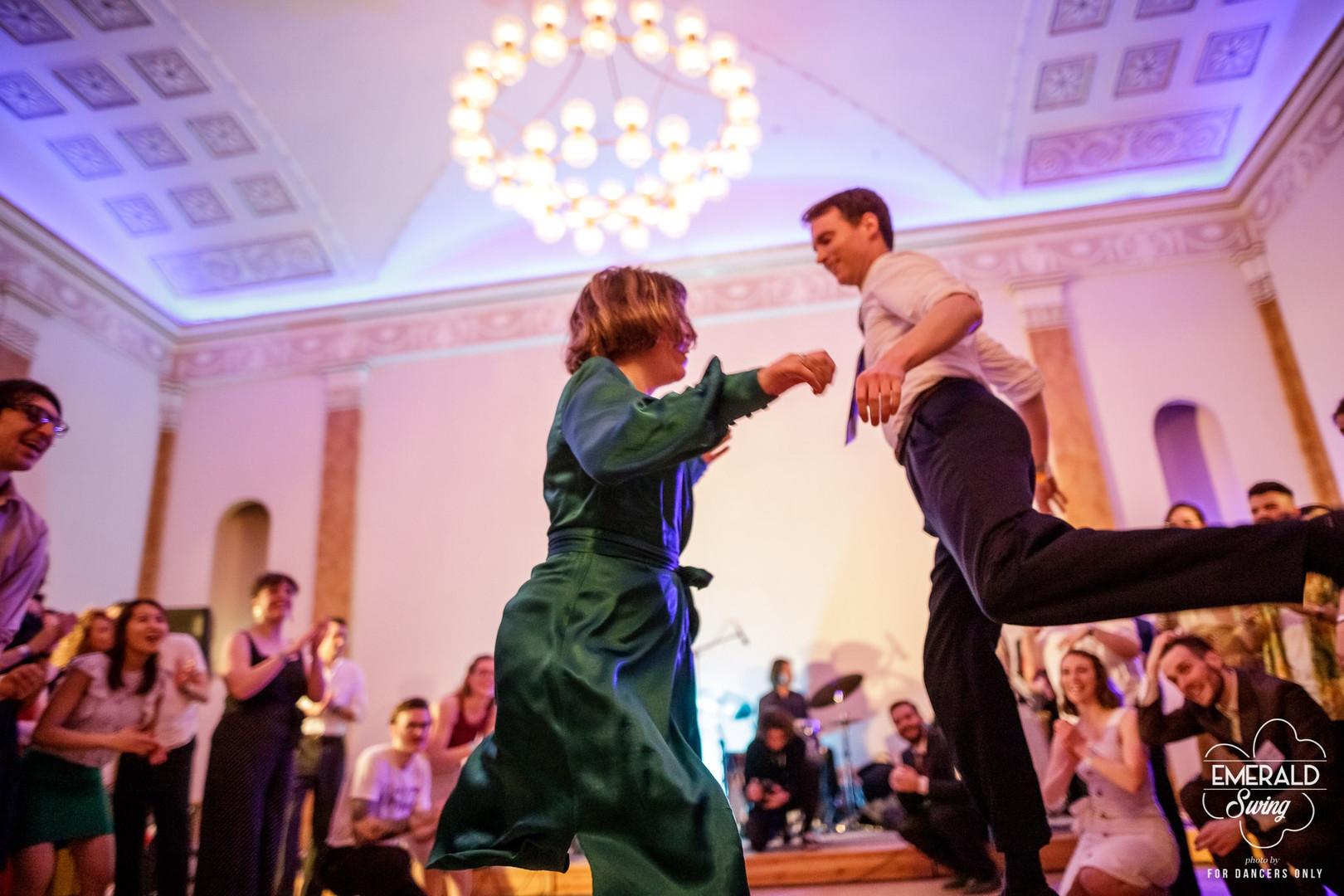 Emerald Swing 2020, Rotunda Pillar Room