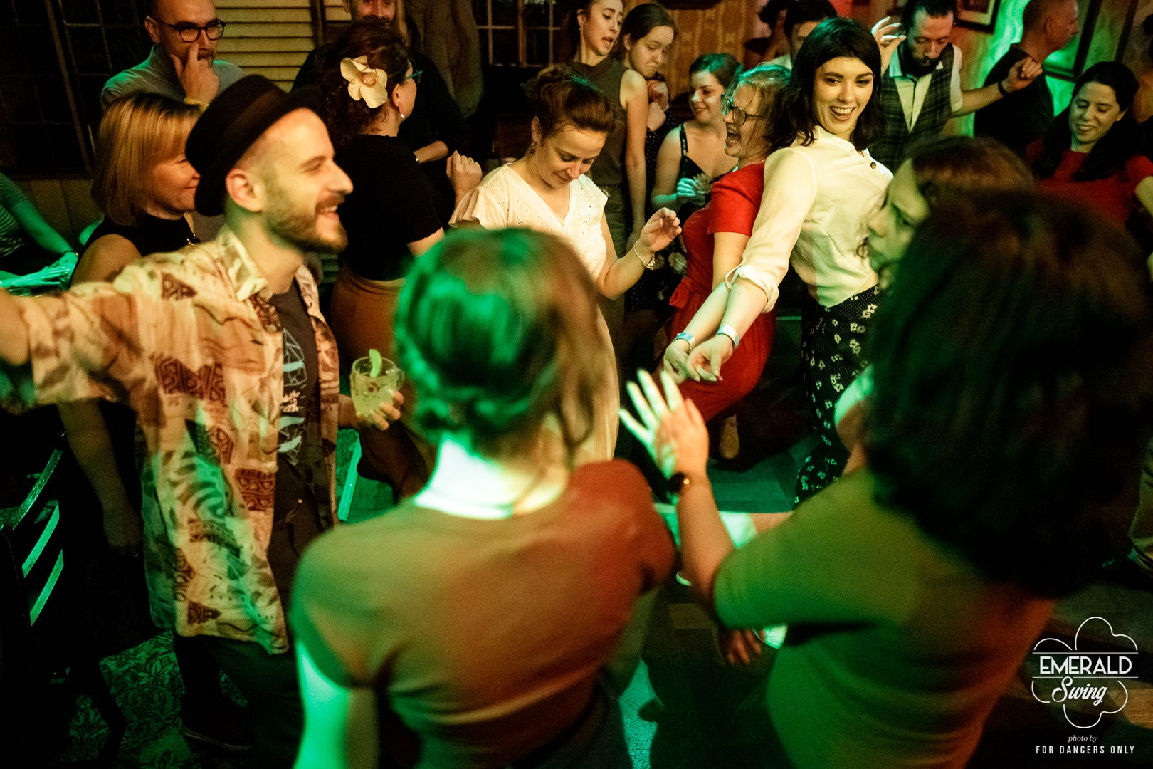 Emerald Swing 2020, After Party in the Liquour Rooms