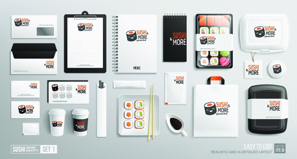 sushi branding