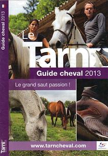 Couverture Guide du Tarn à Cheval 2013 - L'Etrier de la Montagne Noire