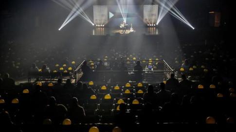 Em teste para retomada de eventos, Serginho Moah faz show no Auditório Araújo Vianna. Gaúcha ZH