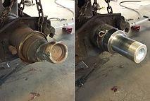 Axle repair