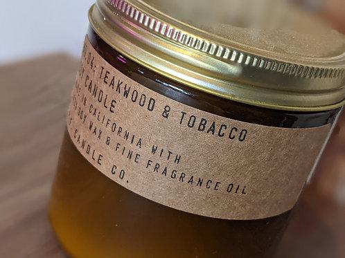 Teakwood and Tobacco Candle