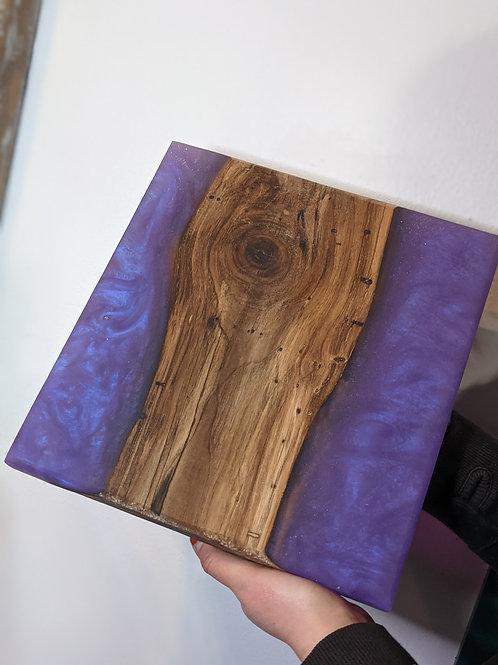 Purple Resin Board