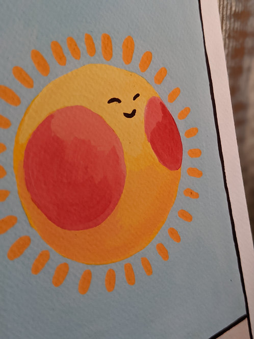 Sun Tarot Print