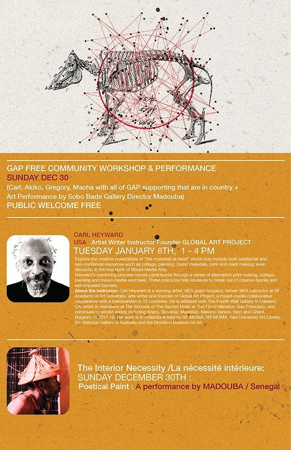 Senegal Art Workshop