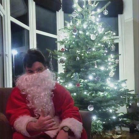 Santa in a Tourist Attraction