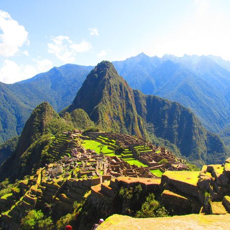 Machu Picchu, Standing at the Top of an Ancient World