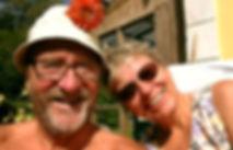 Per og Anette – værter på Hannenov Bed and Breakfast. Vi glæder os til at se jer!