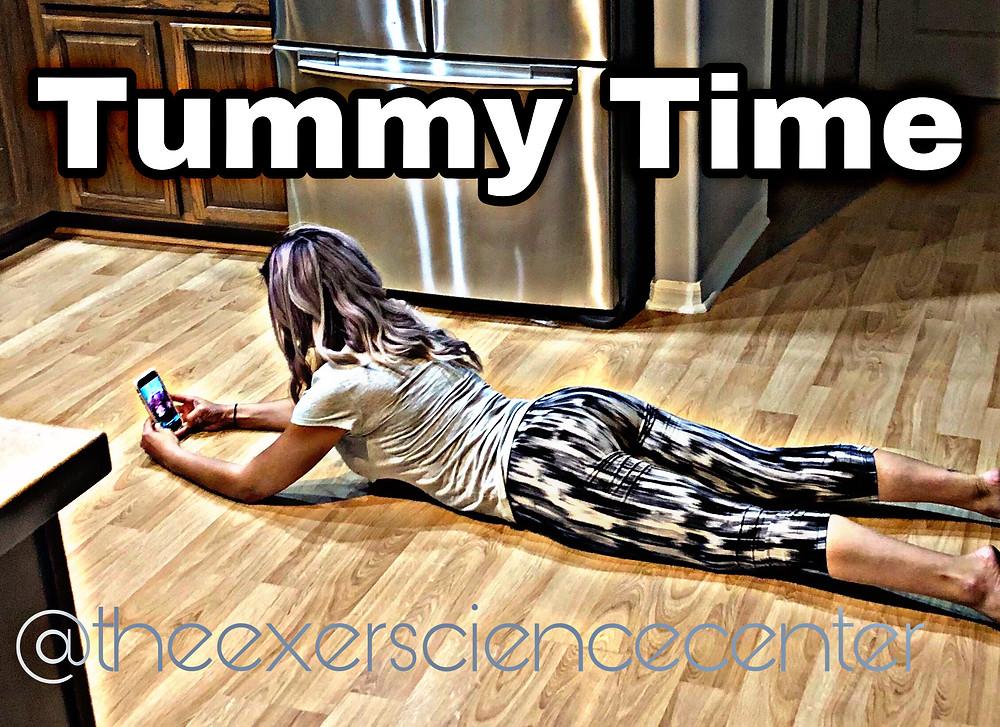 Dr Lauren Tummy Time