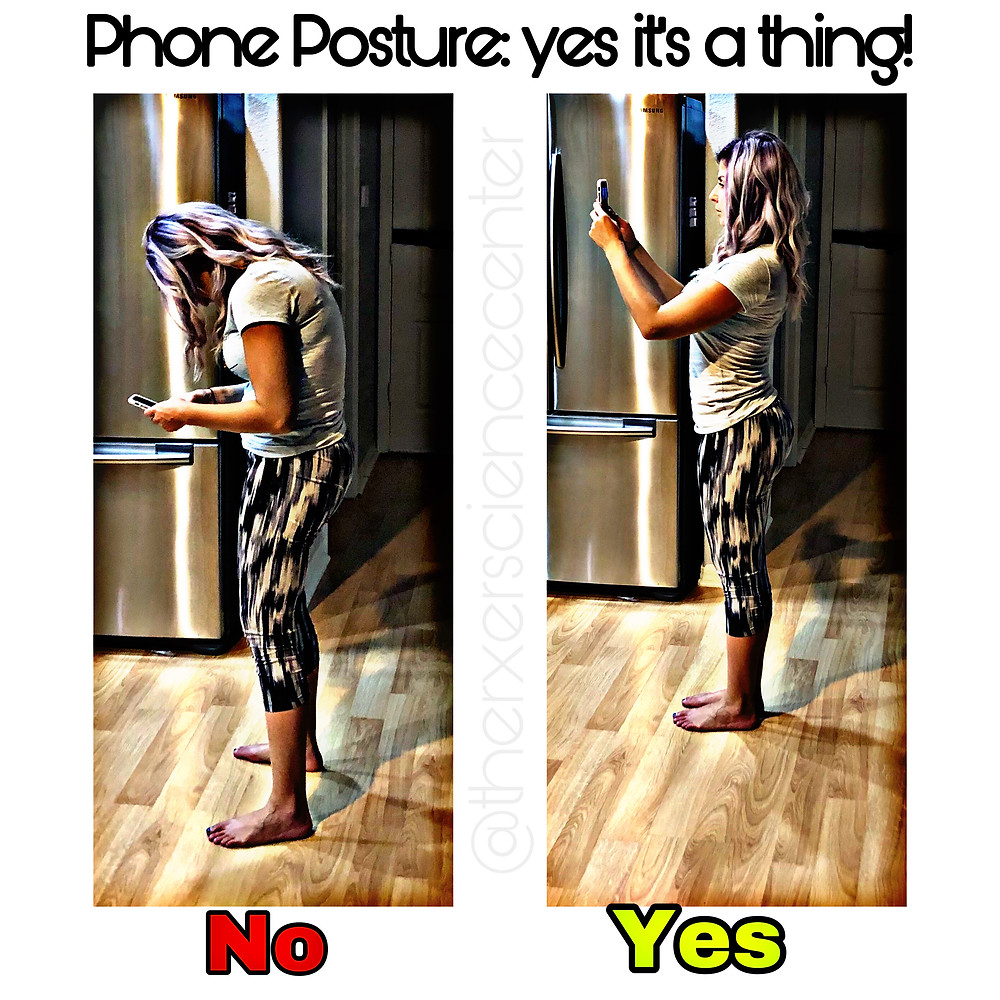 Dr Lauren Leiva Phone Posture