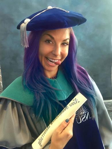Dr. Lauren Leiva Graduation