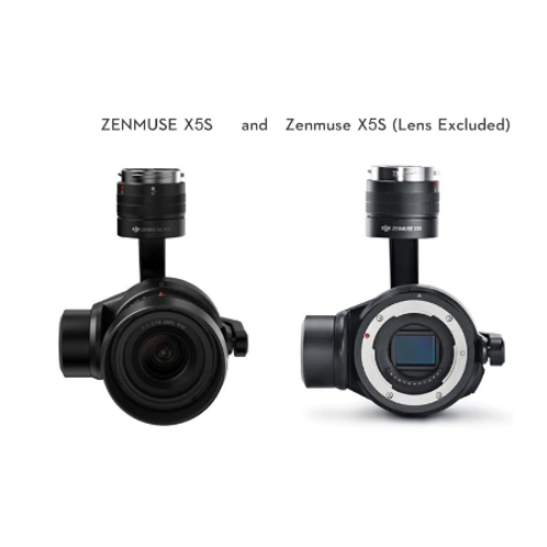 DJI ZENMUSE X5S and Zenmuse X5S (Lens Excluded)