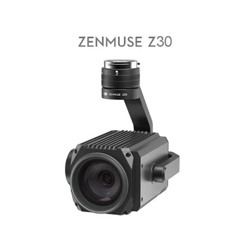 DJI Zenmuse Z30 gimbal camera with 30x optical and 6x digital zoom