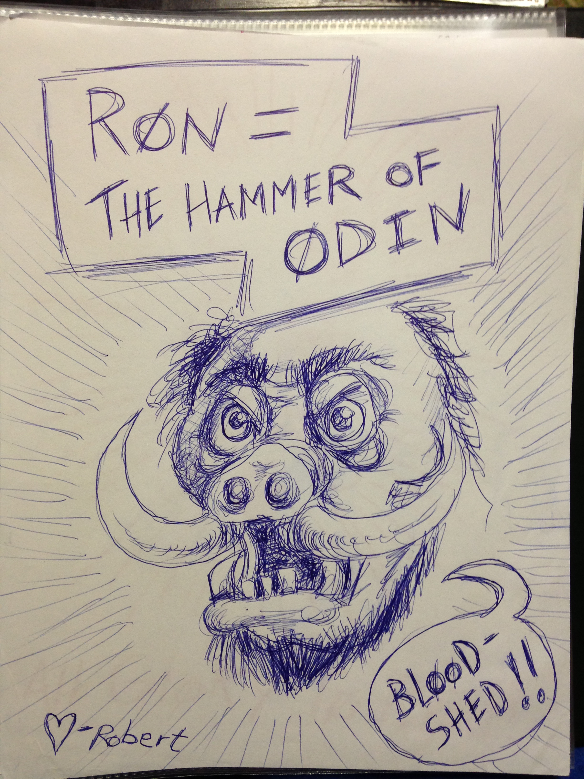 Robert Farmer Ron=The Hammer of Odin 1.JPG