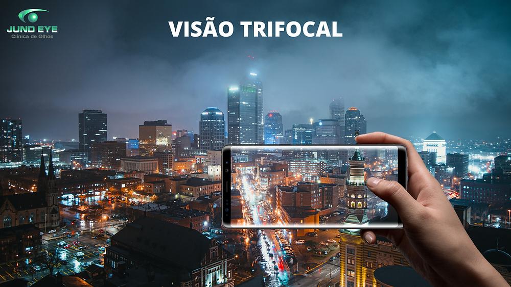 O que é visão Trifocal?