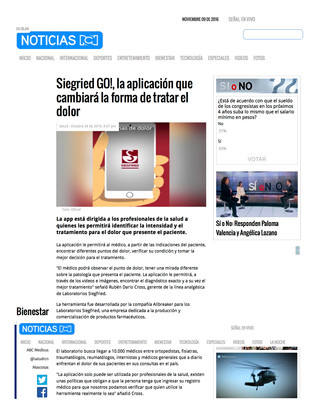 Proximity Beacons App developed for Laboratorios Siegfried Colombia!